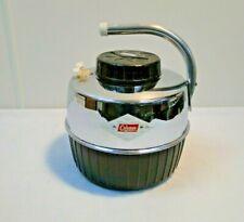 Vintage Coleman Water Jug Cooler - With Cup - Diamond Logo