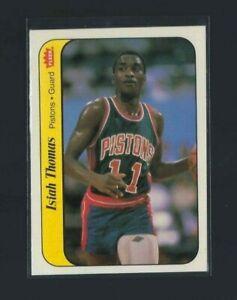 1986 Fleer Basketball Isiah Thomas Sticker #10 of 11 NM+