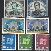 Portugal Stamps 1961 issues (complete) MNH OG