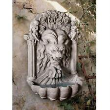KY207 - House of York Lion Sculptural Fountain w/Pump - Wall Mounted