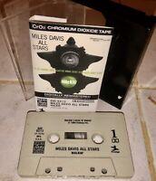 MILES DAVIS ALL STARS WALKIN' CASSETTE TAPE PRESTIGE 7076 CrO2 1986 OJC-5213