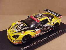 Spark 1/43 Resin Corvette C6 ZR1, LMGTE Am Class 2012 LeMans, Sequana #70 #S3736
