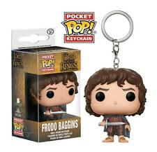 Lord of the Rings Frodo Baggins Pocket Pop! Keychain Keyring Bag Clip Funko