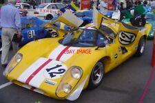PHOTO  SILVERSTONE 08 CARLOS BARBOT'S LOLA T70 MK3B #SL76/136 DRIVEN BY JONATHAN