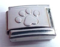 PAW PRINT Italian Charm I Love my Cat Dog Pet for 9mm Classic Starter Bracelets
