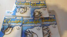 5 packs gamakatsu weedless split / drop shot hook size 3/0  # 50913 4 per pack