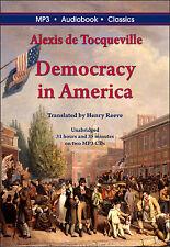 Democracy in America by Alexis de Tocqueville - MP3 CD in DVD case