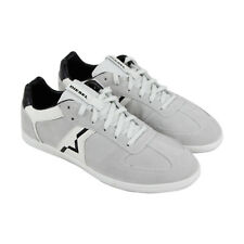 Diesel S-Alloy Mens Gray Suede Lace Up Sneakers Shoes 9