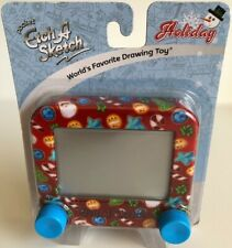 NEW CHRISTMAS HOLIDAY POCKET ETCH A SKETCH TOY OHIO ART, Brand New/Sealed
