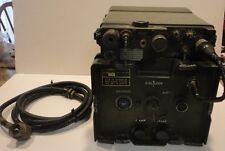 Vintage RT-175/PRC-9 Military Radio Transceiver With AM-598/4 Power Supply