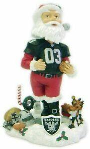 Las Vegas Raiders Santa Claus Forever Collectibles Bobblehead