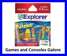 NEW! Leap Pad Ultimate Game, Get Puzzled Leapfrog LeapPad, LeapsterGS Maths