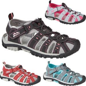 Ladies Walking Hiking Closed Toe Sandals Summer Adventure Holiday Beach Shoes Sz
