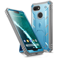 Poetic® For Google Pixel 3 XL [Dual Layer] Shockproof Hard Shell Case Cover Blue