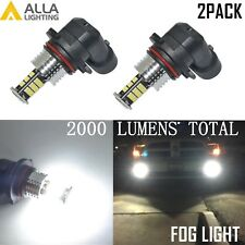 Alla Lighting LED Fog Light Bulb Driving Lamp Driver Passenger Side for Chevy 2x