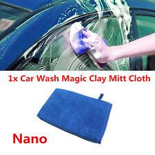 1x Car Nano Wash Magic Clay Mitt Cloth Care Cleaning Towel Microfiber Sponge Pad