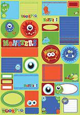 Reminisce MONSTERS JOURNALING BIG Sticker Sheet scrapbooking