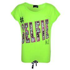 T-shirt vert pour fille de 10 ans