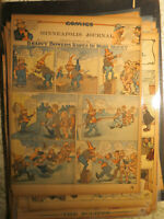 Comics Antique Newspaper 1903 BRAINEY BOWERS ROPES IN MORE MONEY