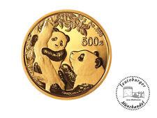 China 500 Yuan 2021 Panda 30 Gramm 999 Gold on OVP Folie verschweißt