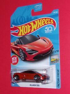 2018 Hot Wheels  McLaren 720S  #178 Factory Fresh  DTW83-D9C0H H case