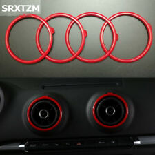 Gold-Audi A3 8 V 2013-2016 A//C Air Vent Heater Ring Surround Cover Trim