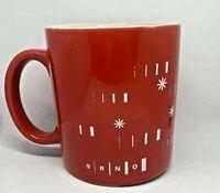 "BRNO Czech Republic City Red Coffee Cup Mug Tableware Winchester Ceramic 3 1/2"""