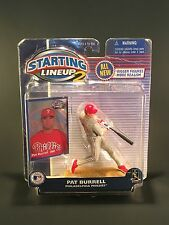 Pat Burrell Philadelphia Phillies 2001  MLB action figure Starting Lineup 2 NIB