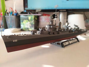 Well Built 1/350 USS Fletcher WW2 US Navy Destroyer Ship Model from Tamiya