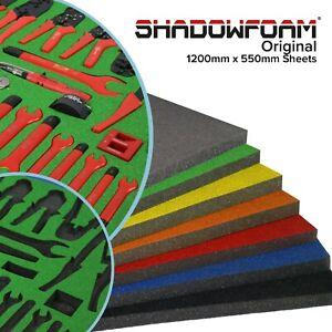 Shadow Foam Sheet | Snap On Extreme Green | Roll Cab Tool Tidy | Festool Green