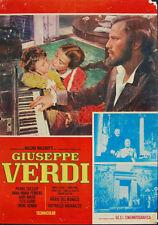 Anna Maria Ferrero Pierre Cressoy GIUSEPPE VERDI fotobusta originale anni '60 #1