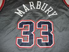 Stephon Marbury New Jersey Nets Jersey Vintage Champion Mens Large 44
