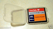 Sandisk 256MB Compact Flash CF shoot&store memory 256 mb card  janome+