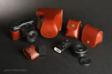 Real Leather Full Camera Case and other 4 accessories for CANON EOS-M (A)