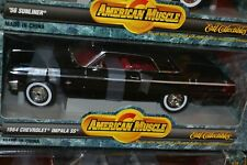 ERTL COLLECTION 1964 CHEVROLET IMPALA SS 1:18 SCALE DIECAST AMERICAN MUSCLE