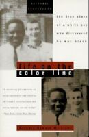 LIFE ON THE COLOR LINE by Gregory Howard Williams FREE SHIPPING paperback memoir