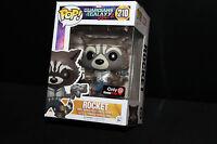 Funko Pop! Vinyl Figure - Marvel #210 - Rocket - GameStop Exclusive