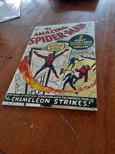 Amazing Spider-Man #1 newsprint replica, silver age,  QC issue