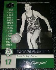 "2008-09 UPPER DECK GENE CONLEY BOSTON CELTICS THE CHAMPION 1959 ""DYNASTY"" CARD"
