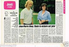 Coupure de presse Clipping 1984 (2 pages) Jean Pierre Rives