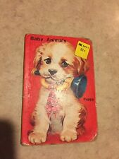 Baby Animals; Playmore Inc. Publishers ; SSK price printed on Cover