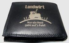 Bauer Traktor Held Spaß Leder Geld Börse Deutz Fent Hanomag Dieselross Schlepper