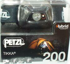 Petzl Lampe au Chapeau Tikka-In Black - 200 lm