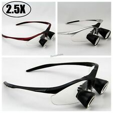 High End 2.5X Dental Loupes Binocular Medical Loupe Surgical Magnifier Glass TTL