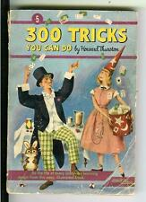 300 TRICKS YOU CAN DO by Thurston, Comet #5 magic humor digest pulp vintage pb