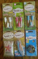 Bahama & Co Scented AUTO Air Freshener LOT of 6 Six  Bambo Vent Clip & Hang It