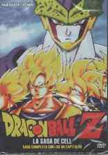 DRAGON BALL Z DVD LA SAGA DE CELL En Español SPANISH 80 EPISODIOS NEW AND SEALED