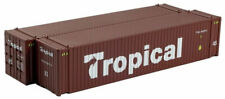 HO CLEARANCE $29. MSRP- 45' Containers, Tropicana 02 #45 (2-pk) CCR-083604