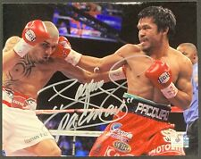 Manny Pacquiao Boxing Champion Signed 8x10 Photo Autographed GA COA