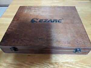 EZARC Japanese Chisel Nomi 6 Set With Box Woodworking carpenter Tool Japan F/S
